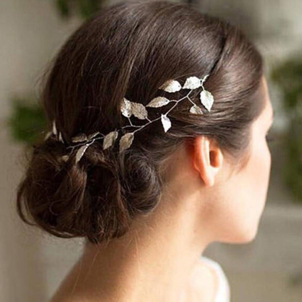 Vintage Leaf Headband Wedding Hair Piece (MITIARA9)