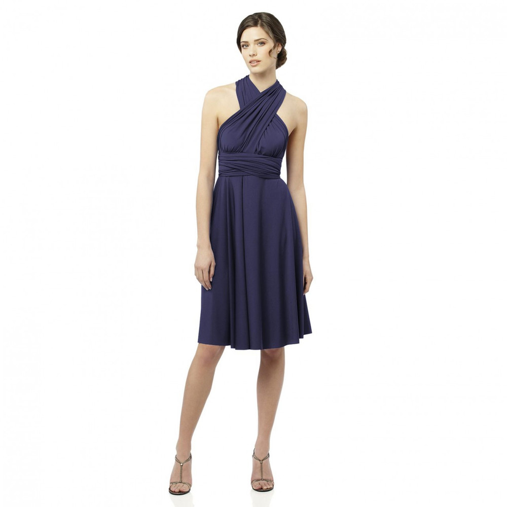 Twist Wrap Dress