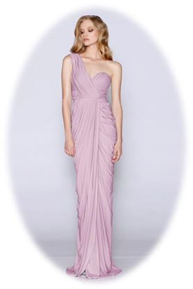Christina Dress By Les Demoiselle LD1080 Bridesmaids Dresses One Shoulder