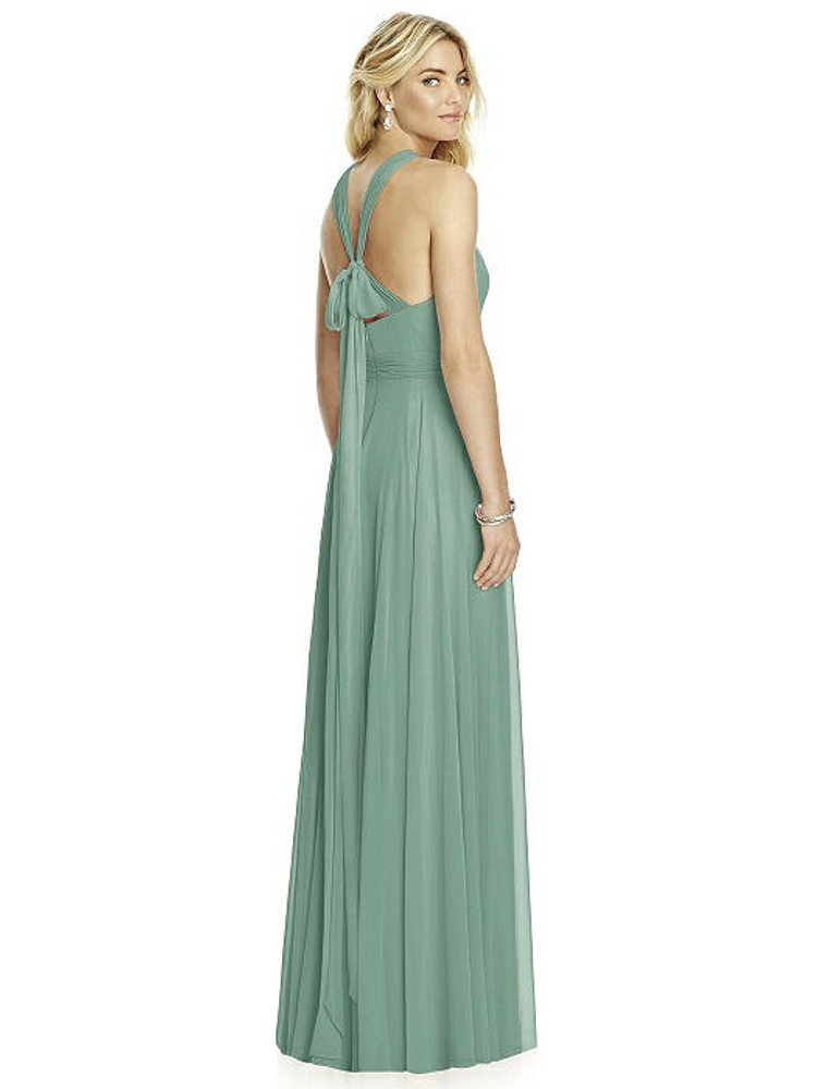Cross Strap Open-Back Halter Maxi Dress By After Six 6760 in 64 colors