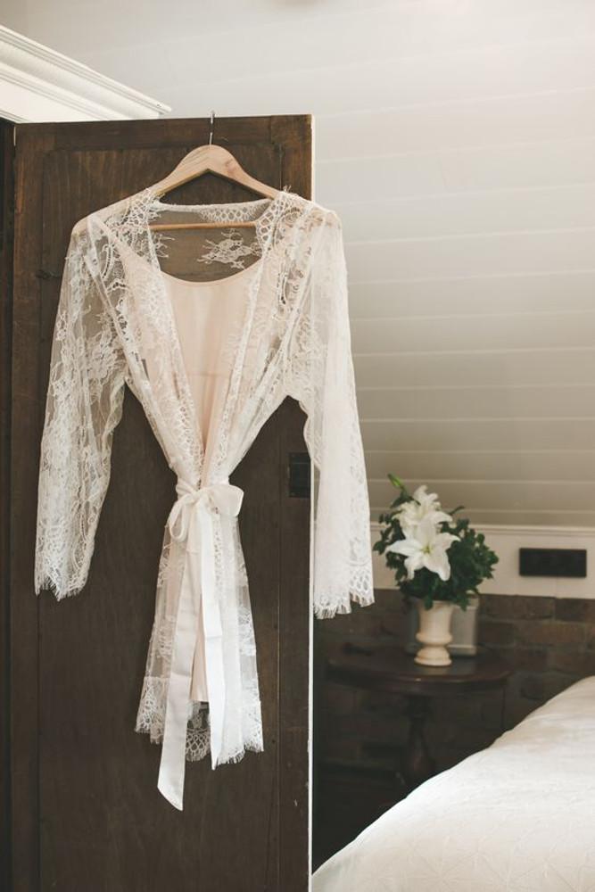 Bridal Full Lace Robe