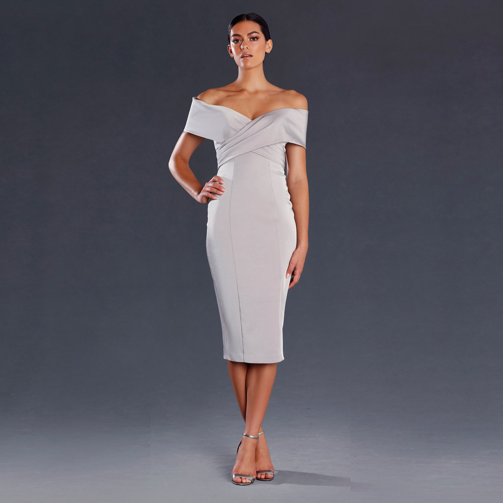 Off Shoulder Cocktail Dress