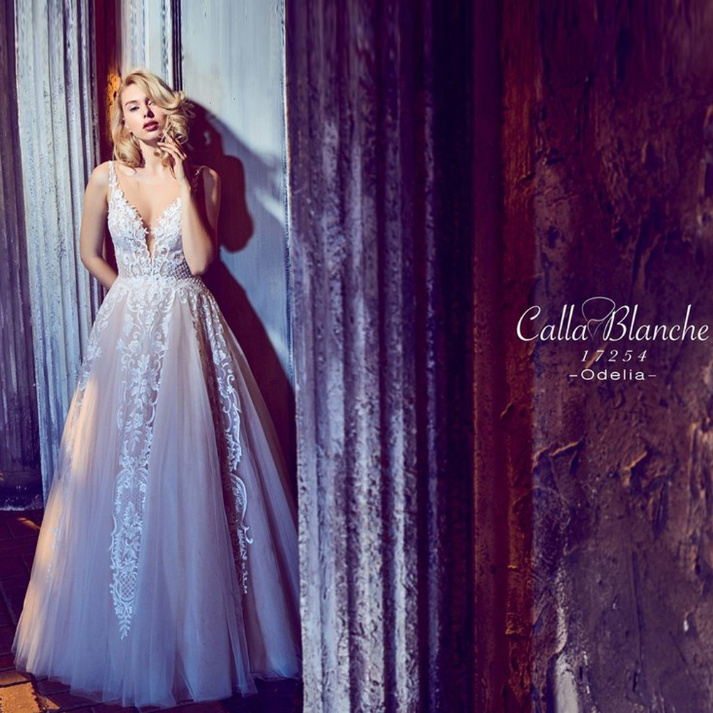 Odelia by Calla Blanche Bridal style 17254