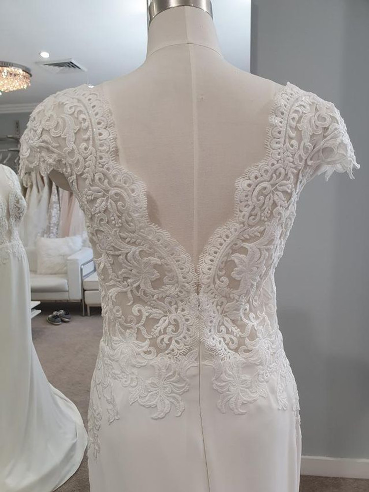 Kyla by Calla Blanche Bridal in Ivory size 10