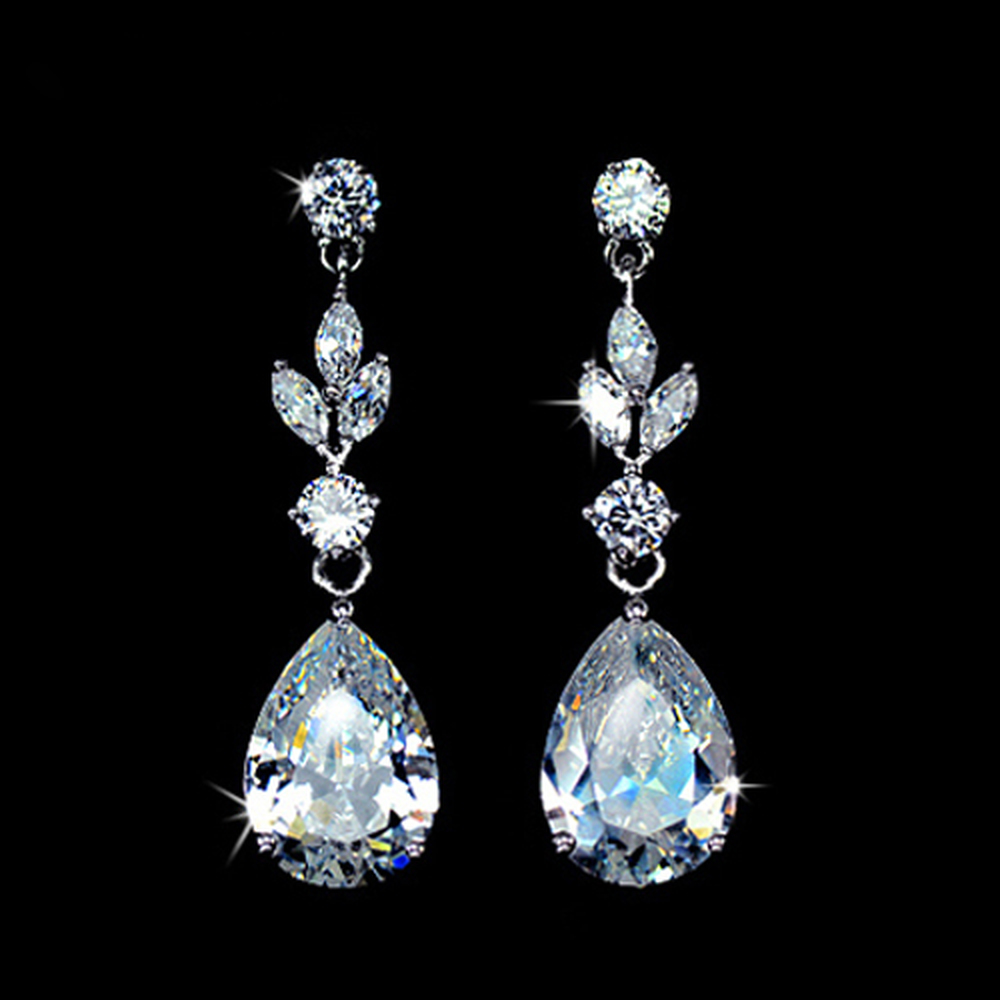 Dew Teardrop Pendant earrings