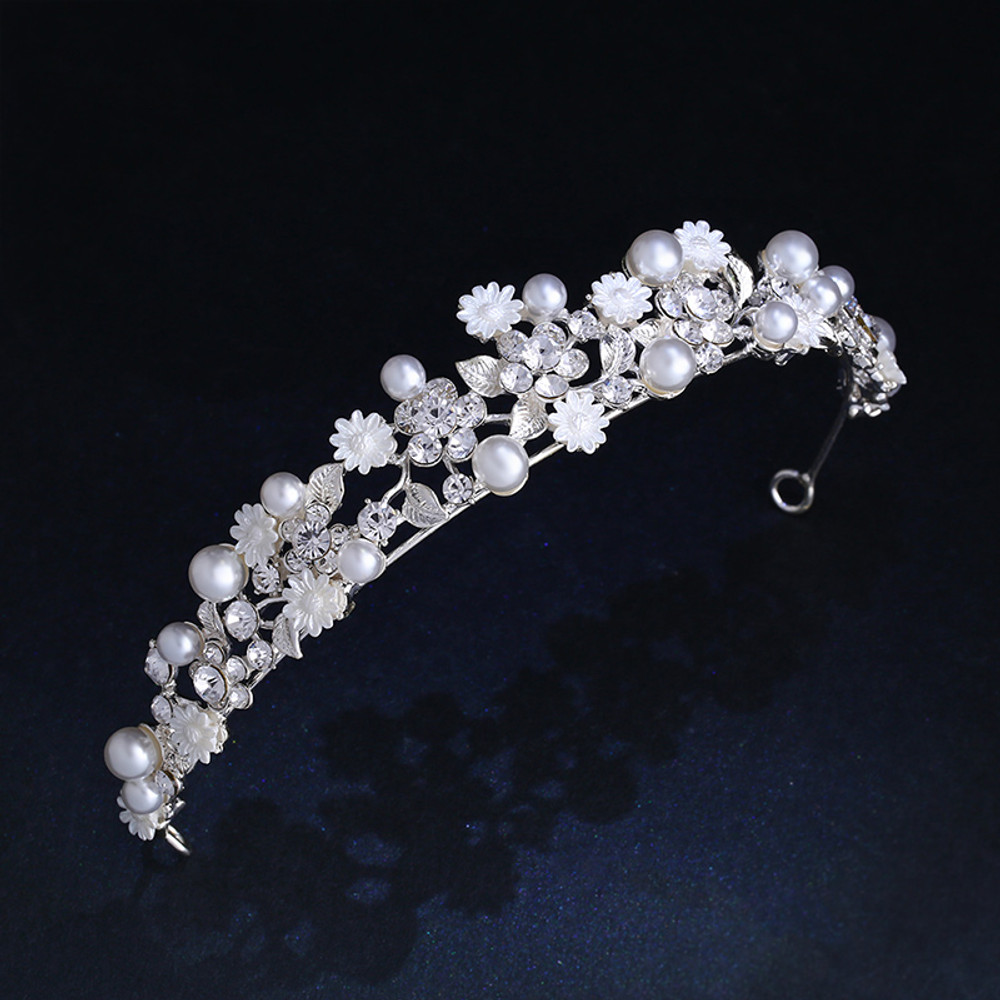 Bridal Floral Headpiece Tiara