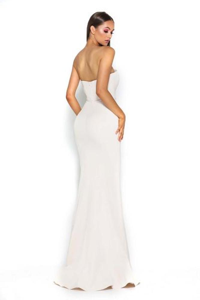 Lilo Gown Cream by Portia & Scarlett
