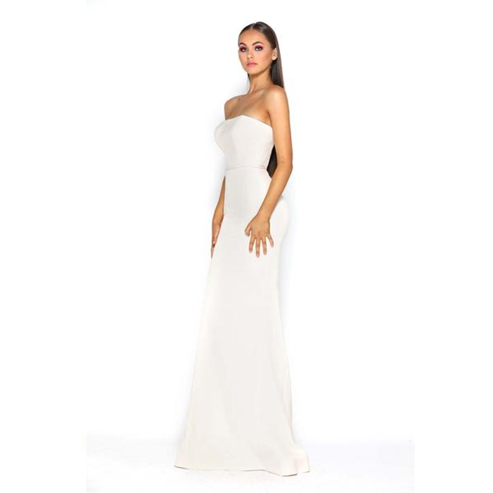 Lilo Gown Cream by Portia & Scarlett