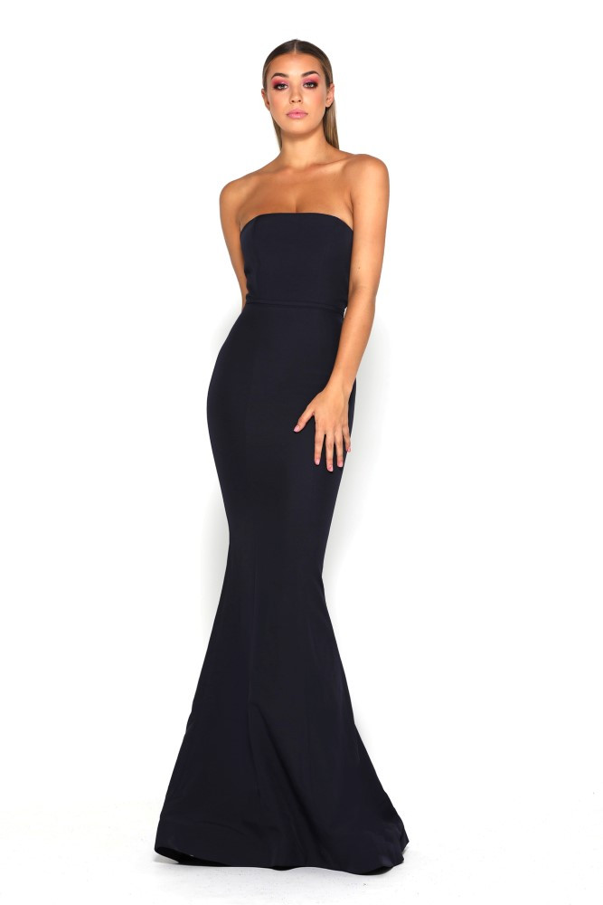 Lilo Gown Black by Portia & Scarlett
