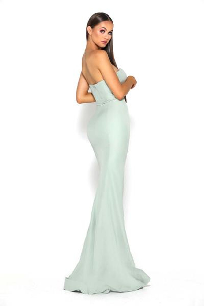 Arya Dress Olive by Portia & Scarlett