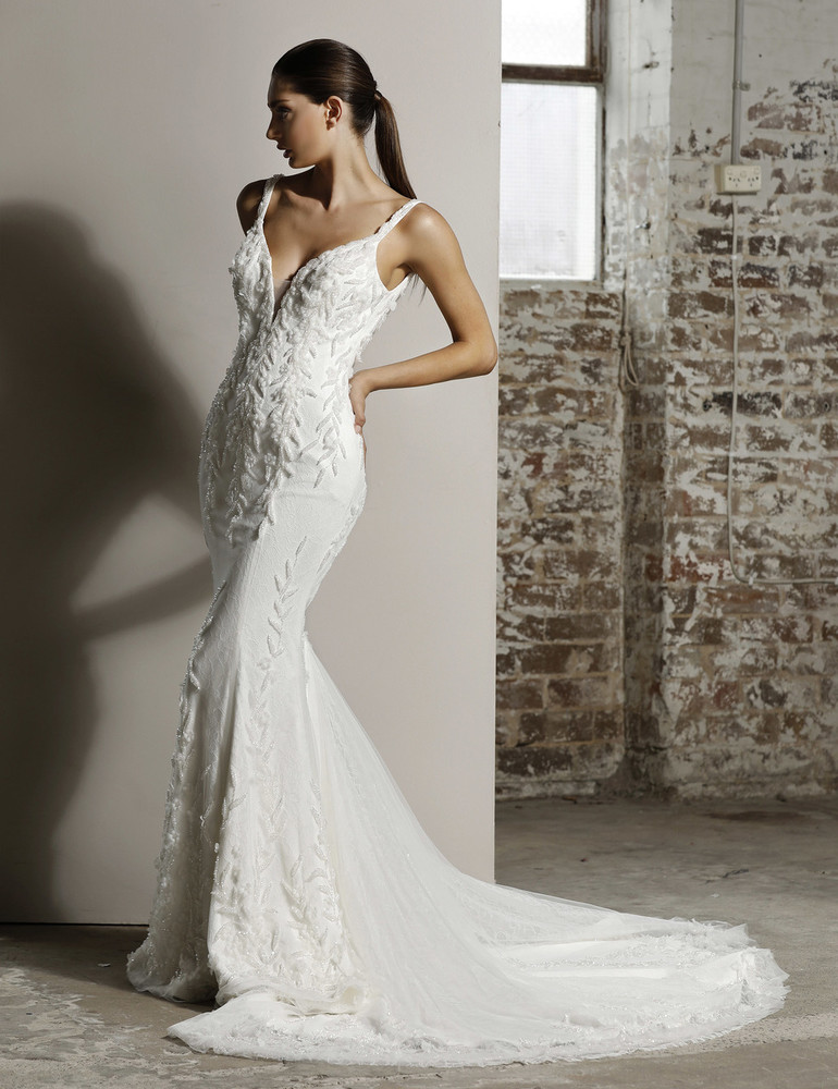 Aubrey Wedding Gown  W111 by Jadore Bridal