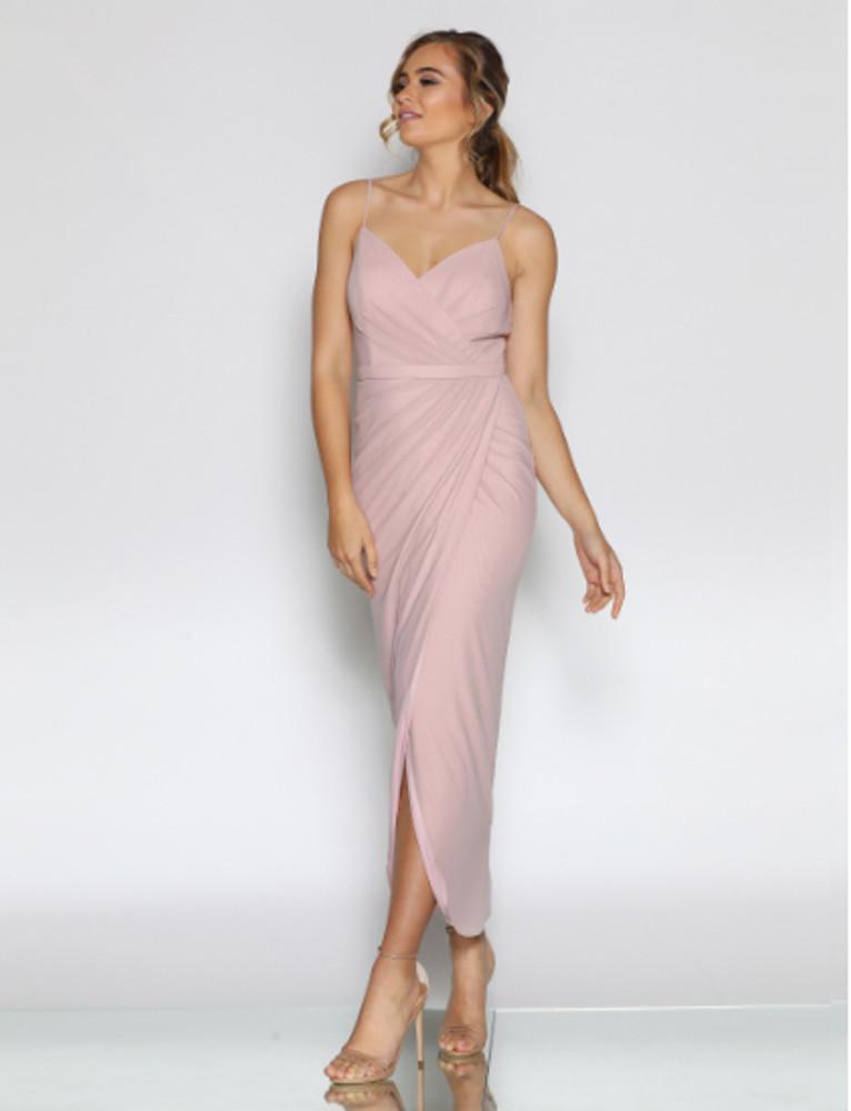 Cleo LD1095 Tea Length Bridesmaid Dresses Online Australia Sydney Brisbane