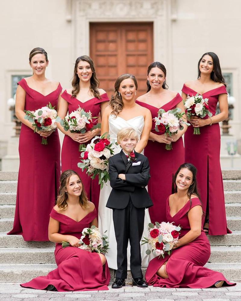 Dessy Bridesmaids 3012