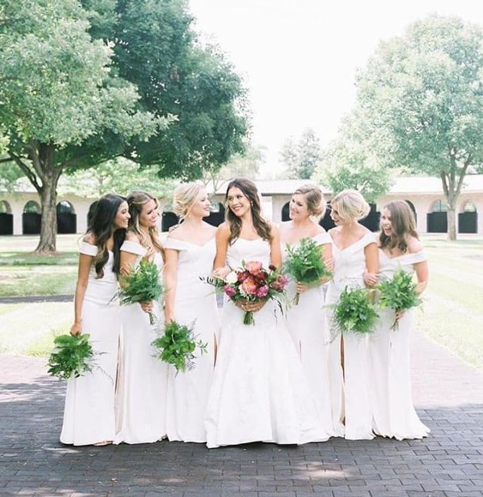 Dessy Dress 3012 white