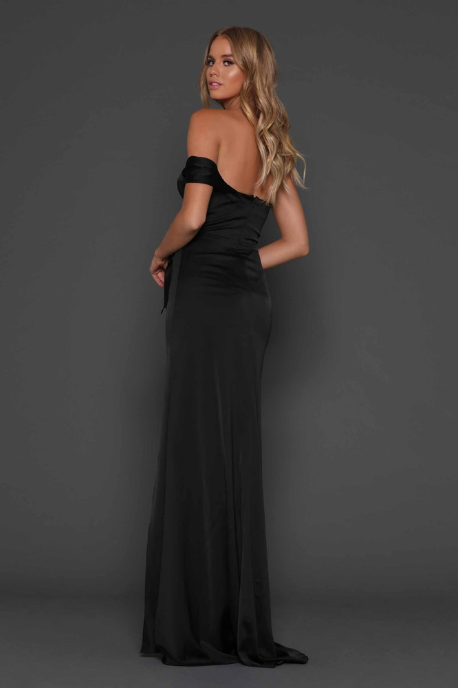 Maise Black Dress Elle Zeitoune