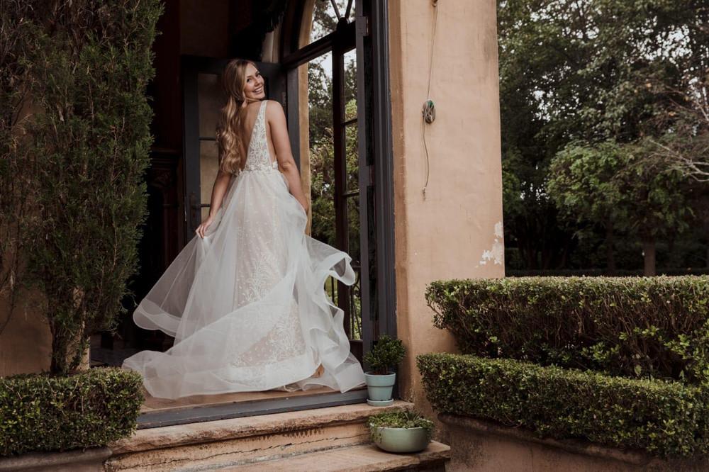 Elizabeth Wedding Gown by Calla Blanche