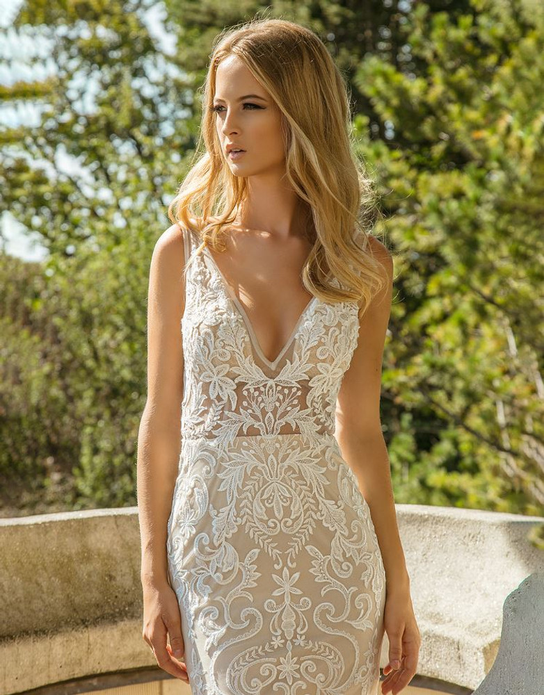 Dani Rose Wedding Gown by Calla Blanche