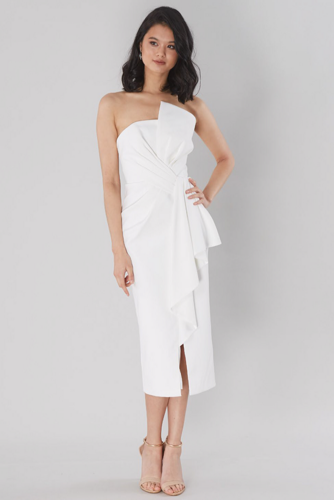 Stellina Midi Dress By Samantha Rose