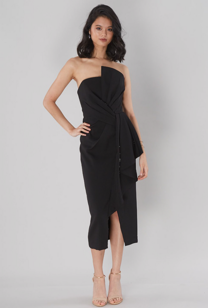 Stellina Midi Gown By Samantha Rose