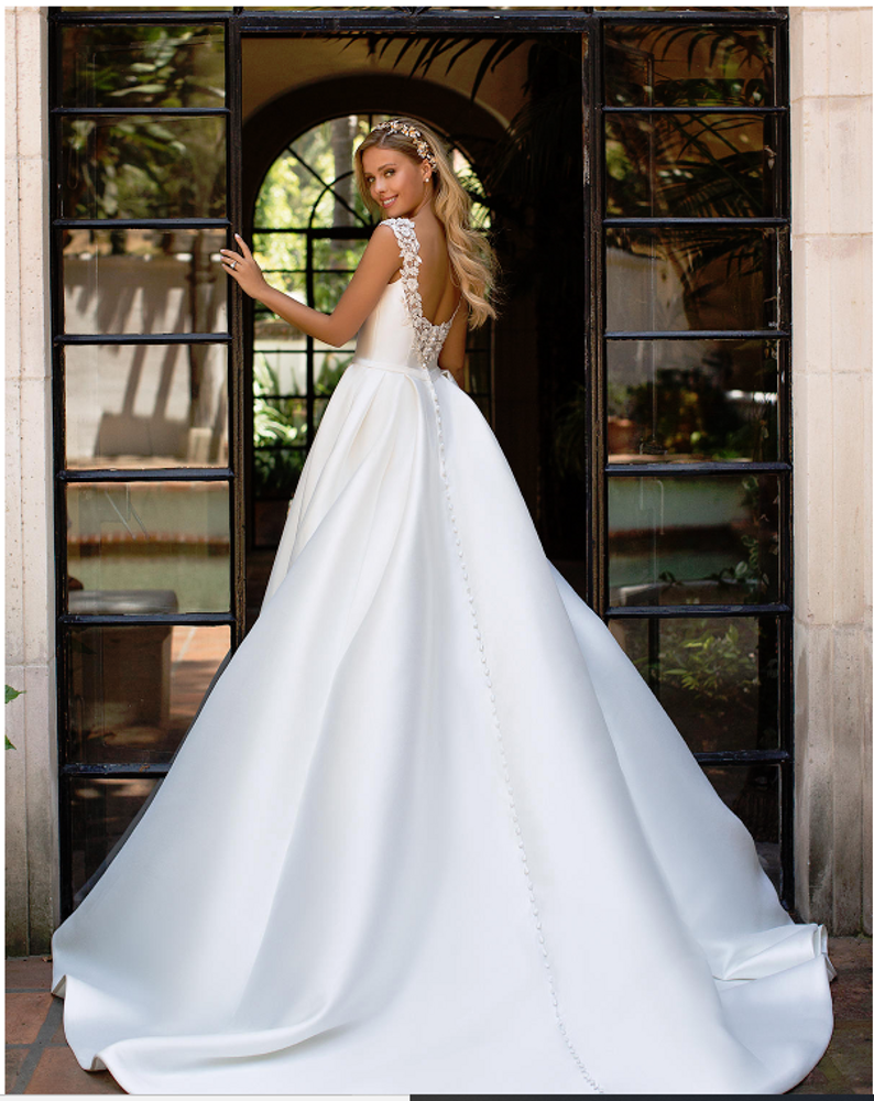 Milly Mikado Wedding Ball Gown J6701 by Moonlight Bridal