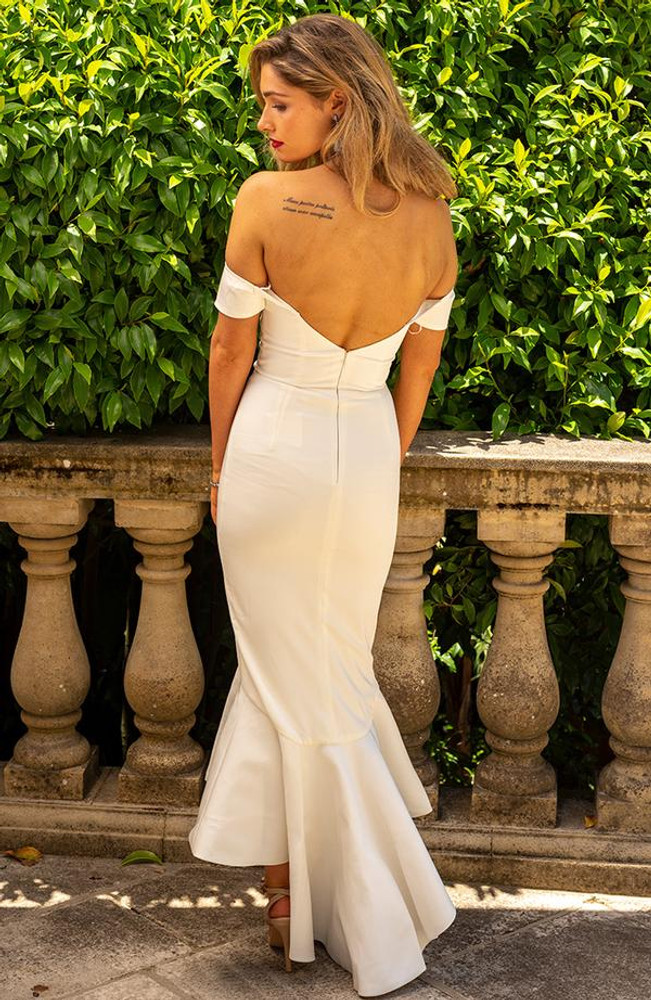 Nicola Dress By Miss Holly Ivory