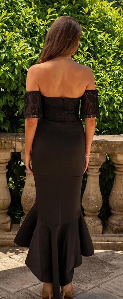 Luciana Dress By Miss Holly Black