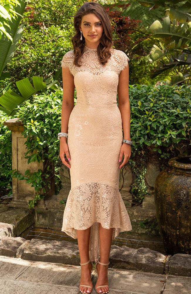Francis Dress By Miss Holly Nude