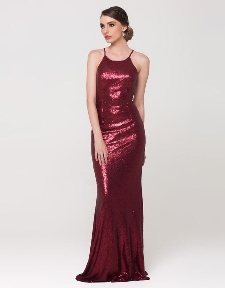 Sadie Sequin Dress by Tania Olsen Designs