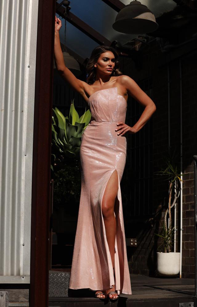 Bernie JX3002 Dress by Jadore Evening