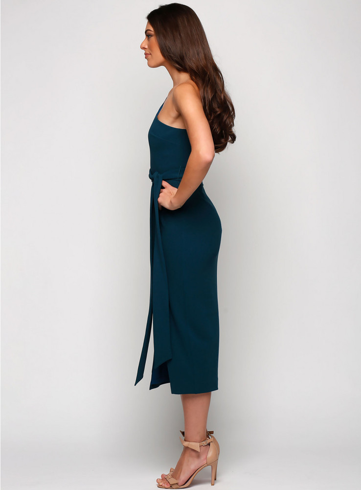 Topia One Shoulder Midi By Samantha Rose
