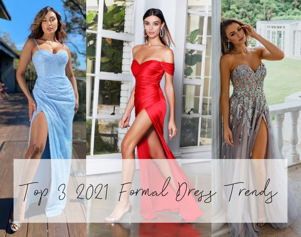 TOP 3 FORMAL DRESS TRENDS FOR 2021: LIGHT BLUE, BODYCON AND TEXTURED FORMAL DRESSES ONLINE AUSTRALIA ZPAY AFTERPAY