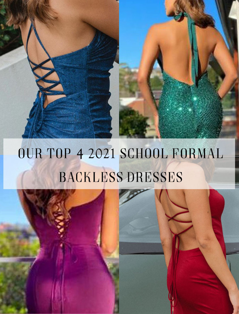 Looking Back: Our Top 4 2021 Formal Dresses with a Stunning Rear View