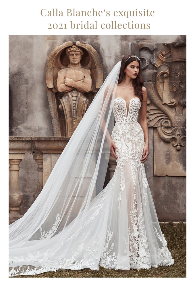 Calla Blanche Bridal Gives us a taste of the new bridal guard!