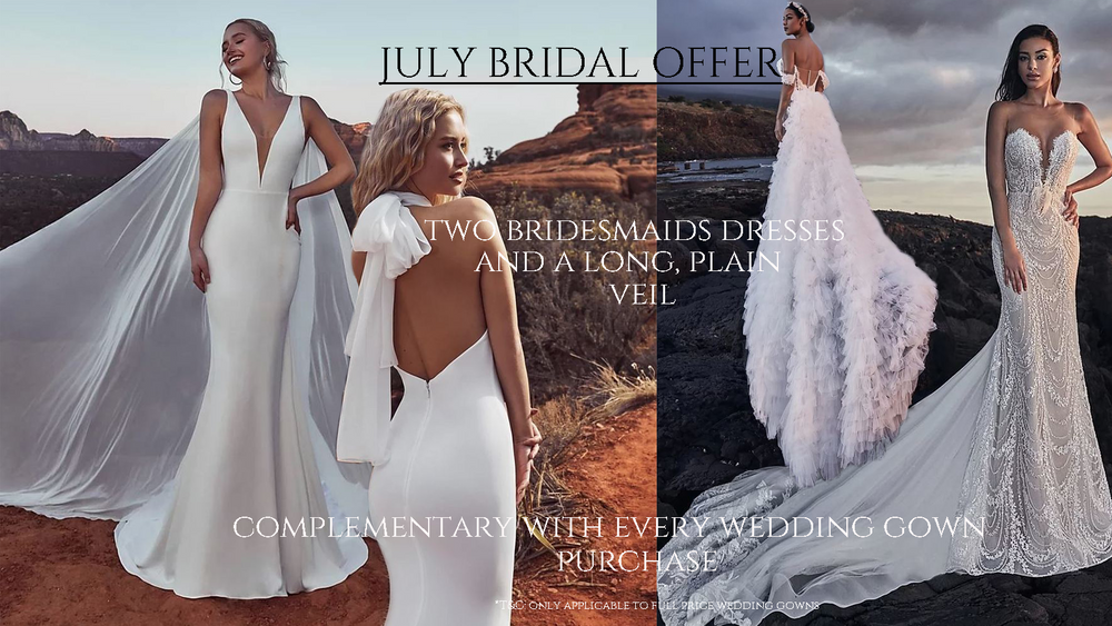 A special offer for our future brides!