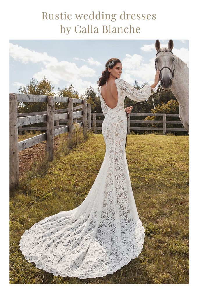 Rustic Wedding Dresses by Calla Blanche