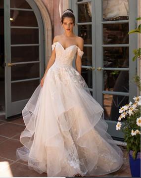 Hayley H1428 by Moonlight Bridal