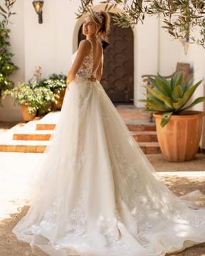Tiffany J6781 by Moonlight Bridal