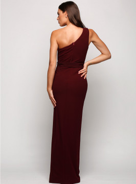 Topia One Shoulder Pencil Dress By Samantha Rose