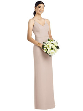 After Six Bridesmaids style 1527 available in 63 colors in cameo