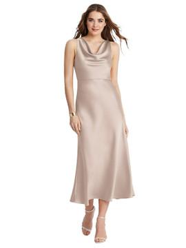 Esme - Cowl Neck Midi Tank Dress
