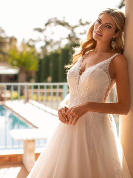 Sloane J6800 by Moonlight Bridal