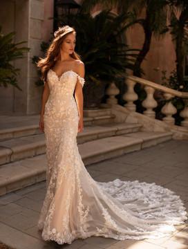 Lauren Gown H1430 by Moonlight Bridal