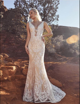 Fallon Gown from La Perle by Calla Blanche Bridal  (arrive in August)