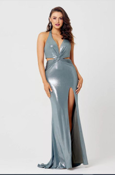 Stevie Knotted Evening Dress by Tania Olsen Designs