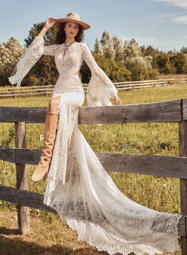 Noor from La Perle by Calla Blanche Bridal