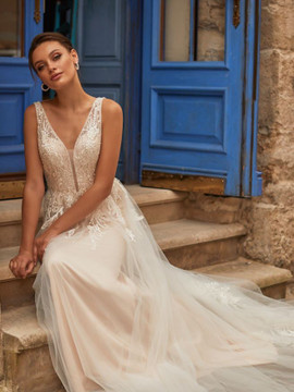 Vica Wedding Gown J6811 by Moonlight Bridal