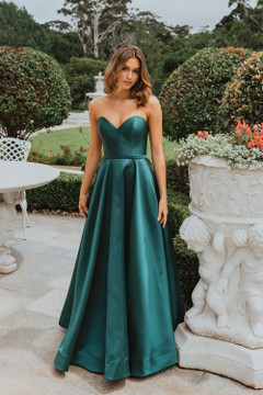 Medina Gown by Tania Olsen in Emerald