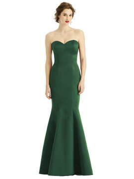 Sweetheart Strapless Satin Mermaid Dress by  After Six 1532 available in 74 colors