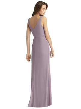 Sleeveless V-Back Long Trumpet Gown by Thread Bridesmaid Style TH016 in 64 colors