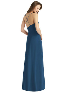 Cowl Neck Criss Cross Back Maxi Dress by Thread Bridesmaid Style TH015 in 61 colors